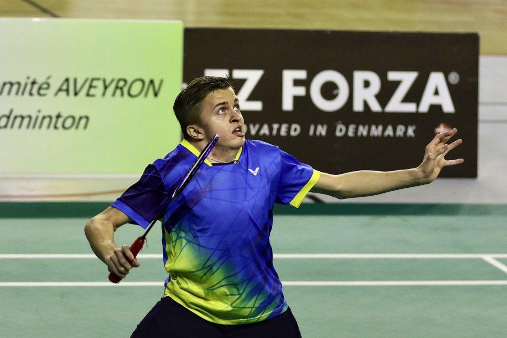 Rickard Nilsson, badminton