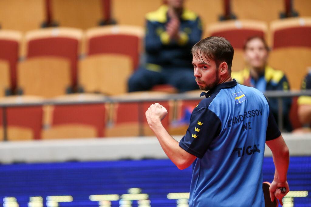 Emil Andersson, singel herrar klass 8, rITTF European Para Championship 2019 Helsingborg r190916 rFoto: KARL NILSSON