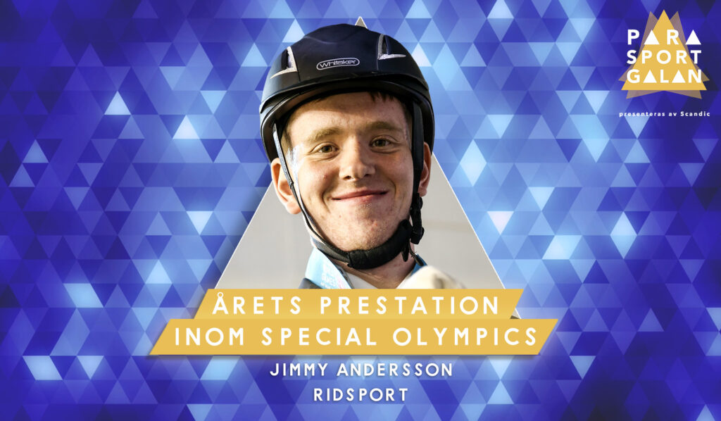 Jimmy Andersson, Årets prestation inom Special Olympics.