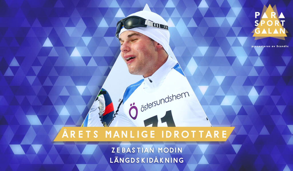 Zebastian Modin, Årets manliga idrottare.