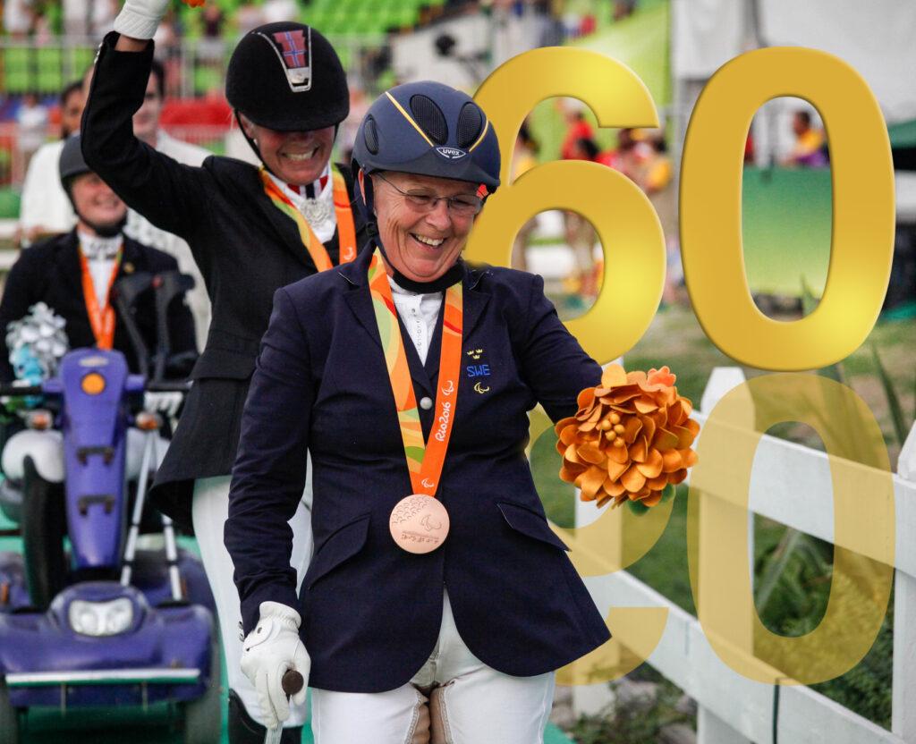 Louise Etzner Jakobsson har precis tagit emot sin första paralympiska medalj, ett brons i dressyr. Nu blickar hon fram emot Tokyo och ytterligare medaljer.