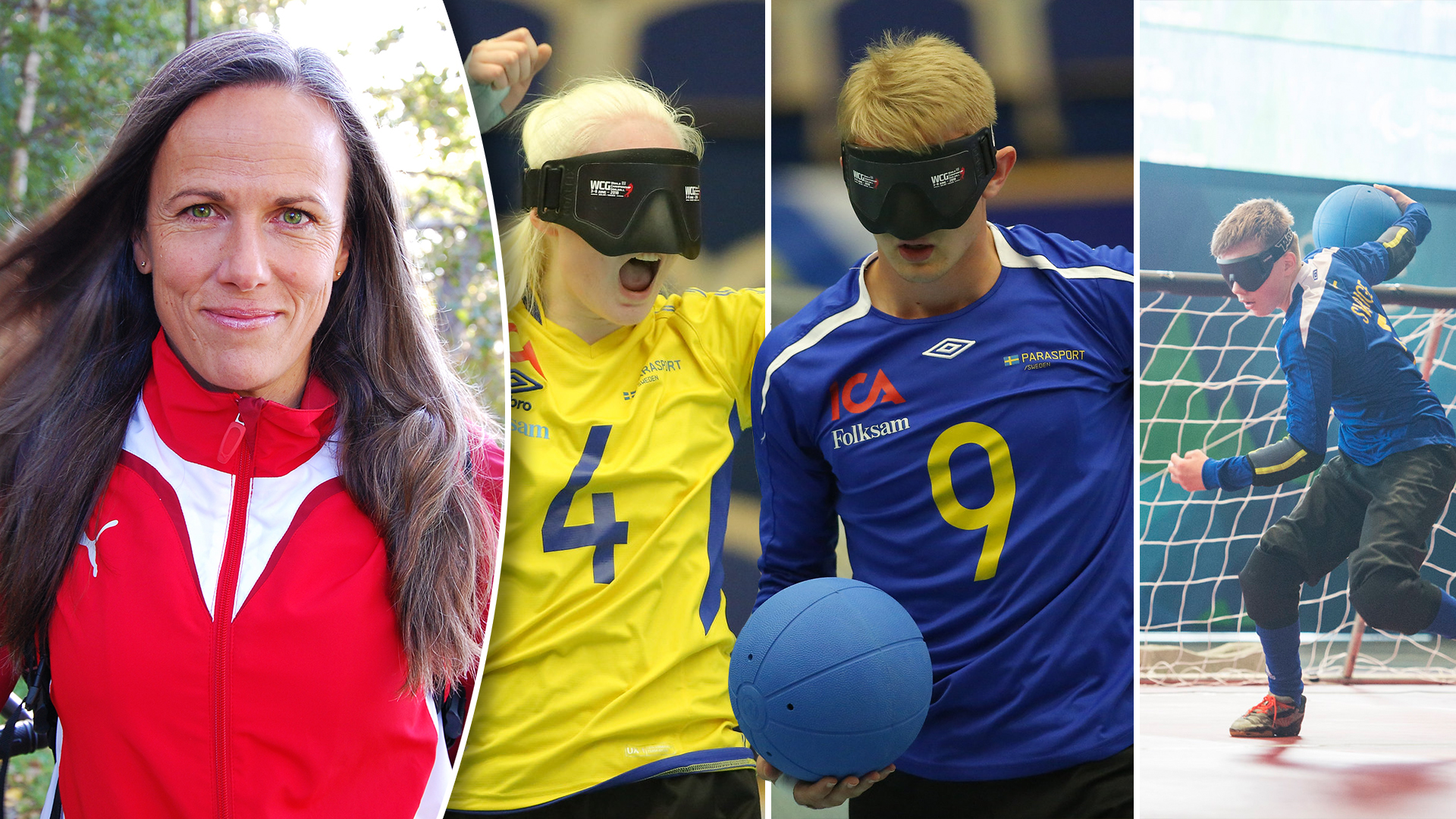 Annika Klingström är ny förbundskapten för goalball-landslagen.