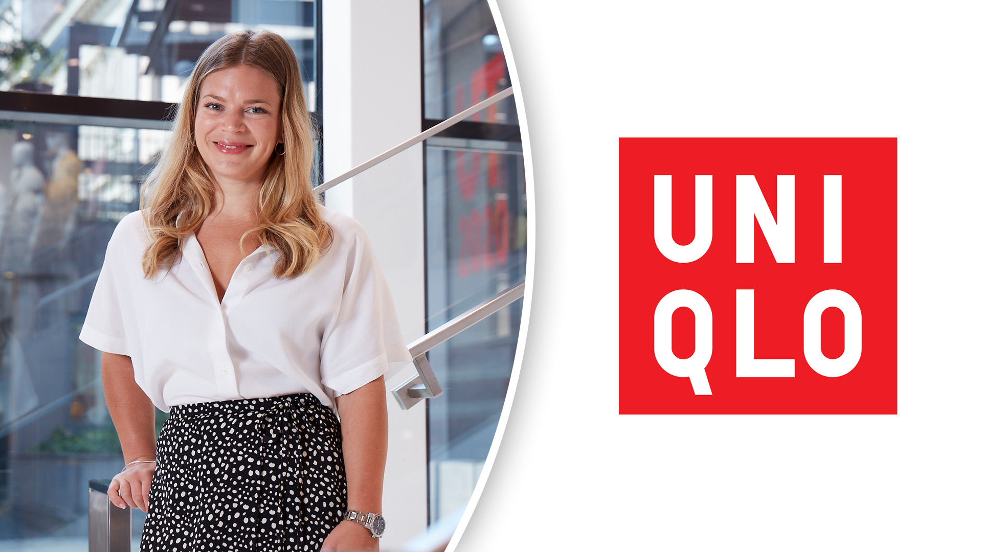 Nikolina Johnston, general manager Uniqlo Sverige.