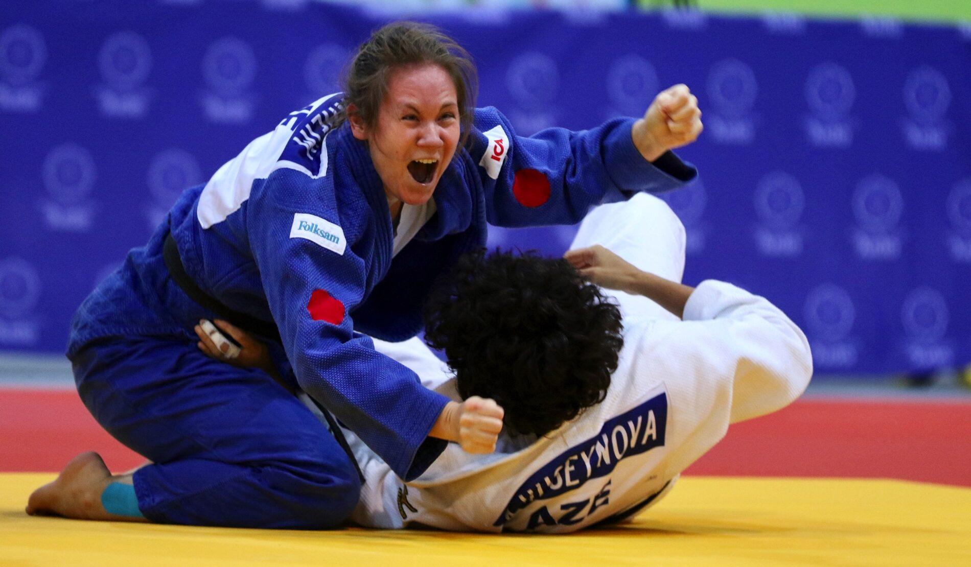 Judokan Nicolina Pernheim.